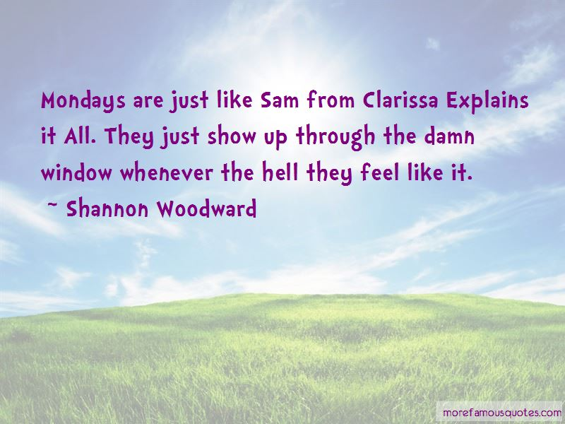 Shannon Woodward Quotes