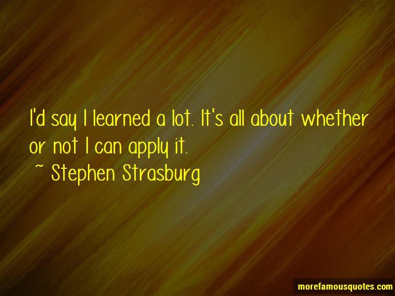 Stephen Strasburg Quotes Pictures 4