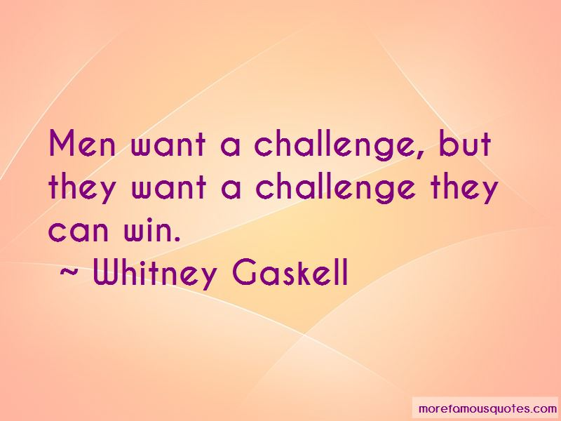 Whitney Gaskell Quotes