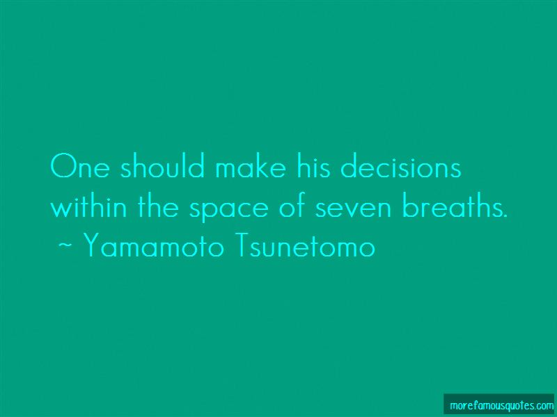 Yamamoto Tsunetomo Quotes Pictures 4