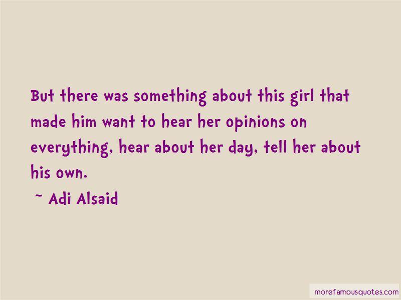 Adi Alsaid Quotes