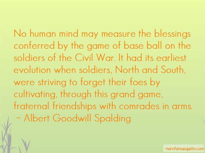 Albert Goodwill Spalding Quotes