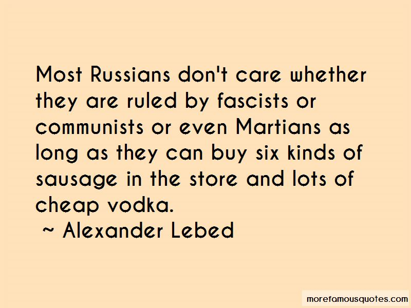 Alexander Lebed Quotes Pictures 3