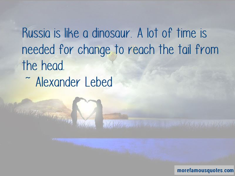 Alexander Lebed Quotes