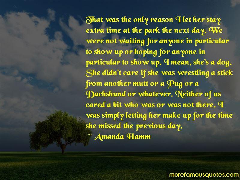 Amanda Hamm Quotes Pictures 3