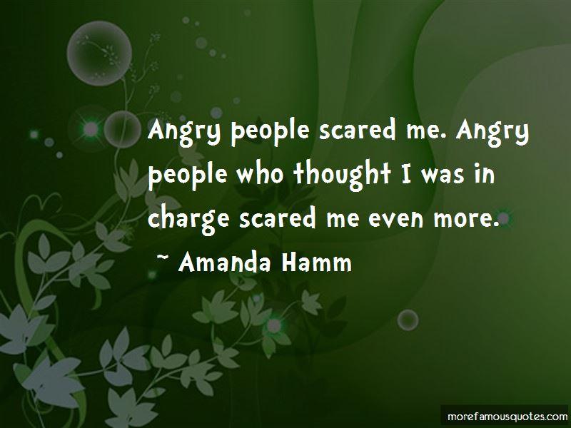 Amanda Hamm Quotes