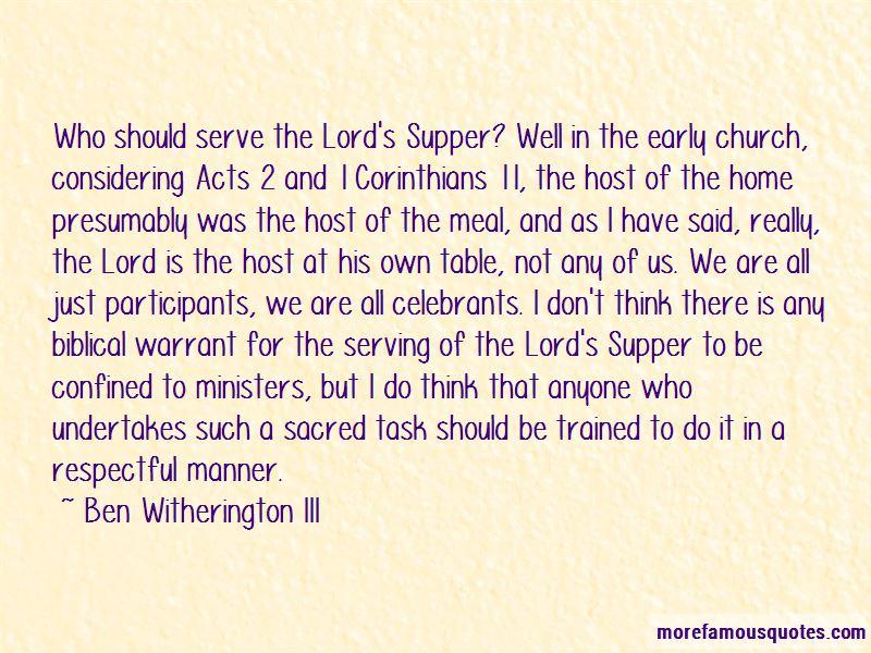 Ben Witherington III Quotes Pictures 2