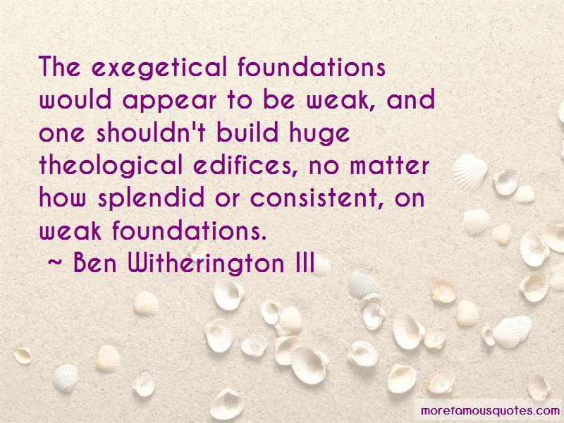 Ben Witherington III Quotes Pictures 4