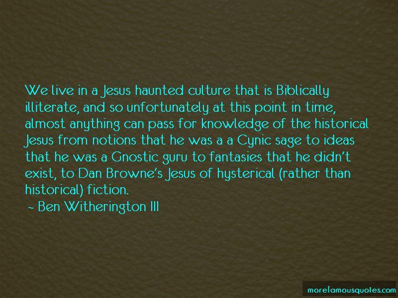 Ben Witherington III Quotes