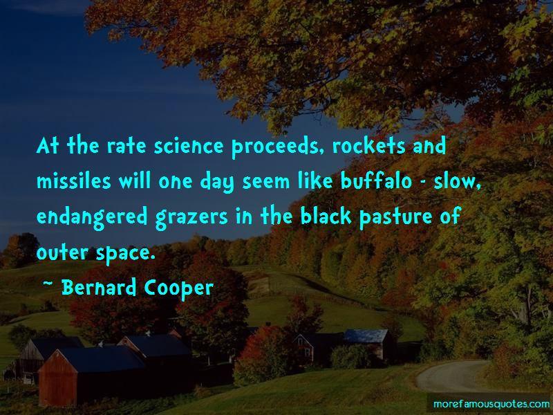 Bernard Cooper Quotes