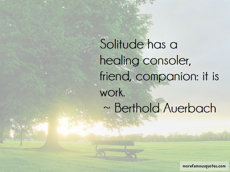 Berthold Auerbach Quotes Pictures 2