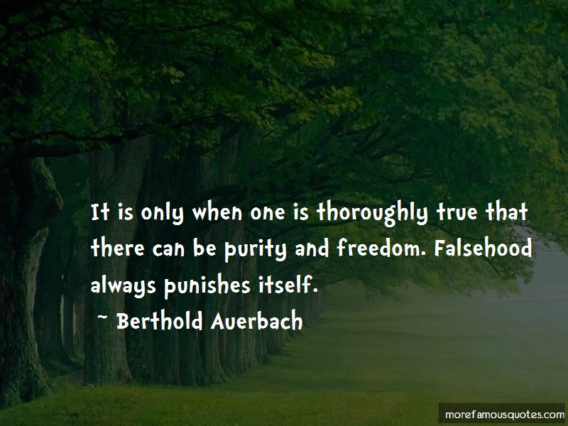 Berthold Auerbach Quotes