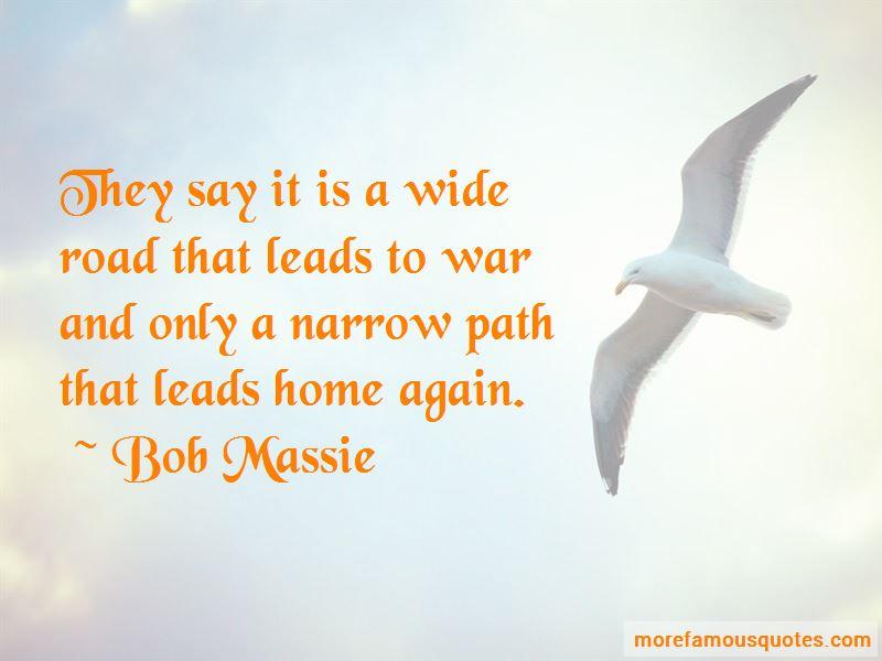 Bob Massie Quotes