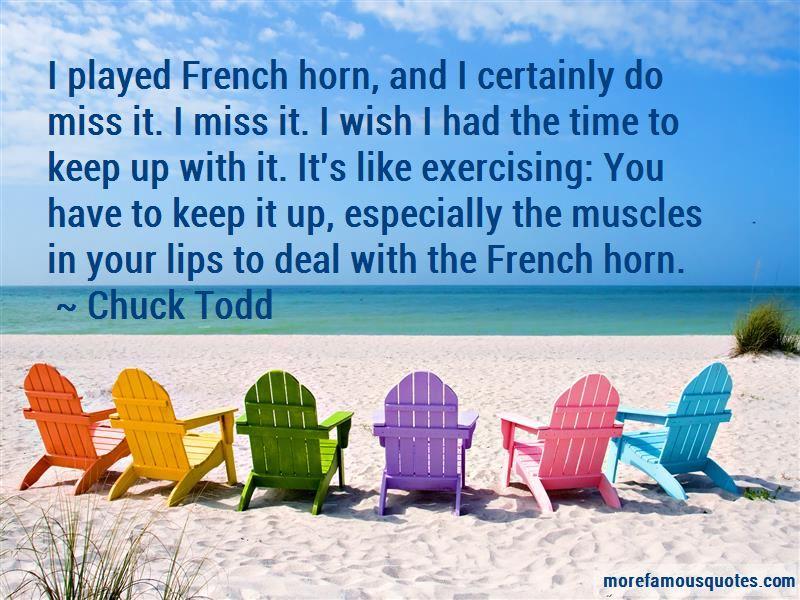 Chuck Todd Quotes