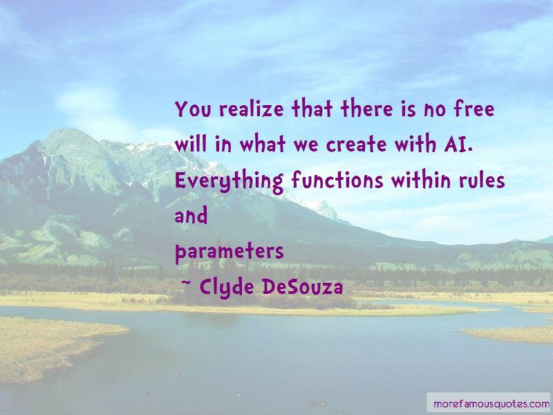 Clyde DeSouza Quotes