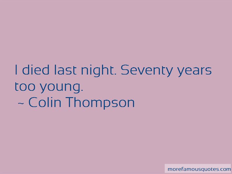 Colin Thompson Quotes Pictures 3