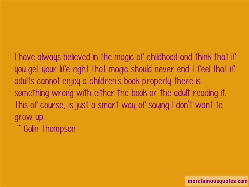 Colin Thompson Quotes Pictures 4