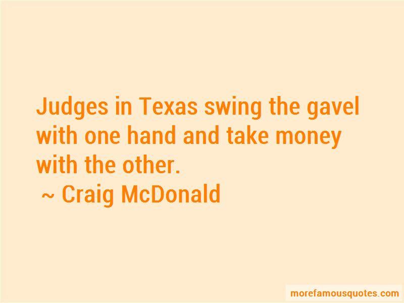 Craig McDonald Quotes Pictures 2