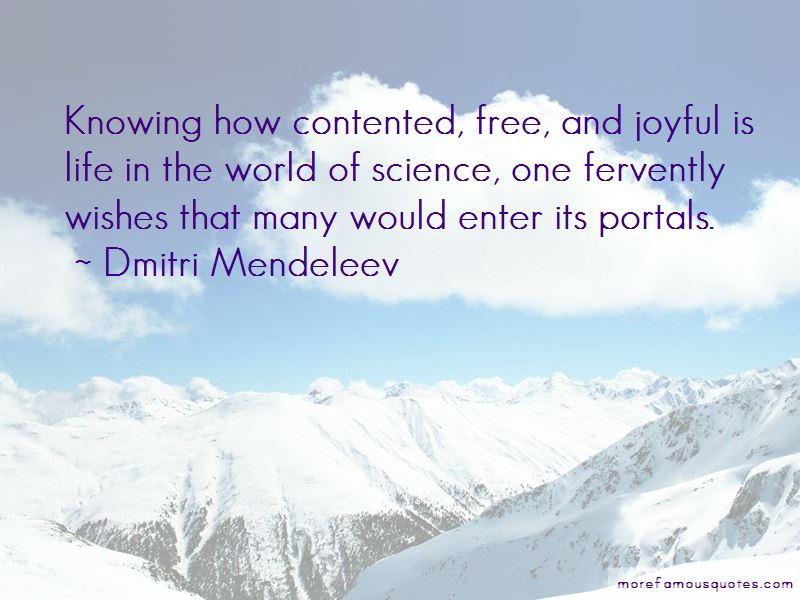 Dmitri Mendeleev Quotes Pictures 4