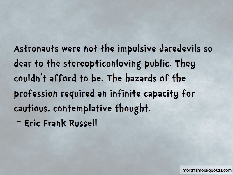 Eric Frank Russell Quotes Pictures 2