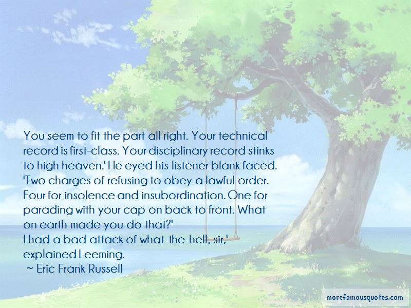 Eric Frank Russell Quotes Pictures 4