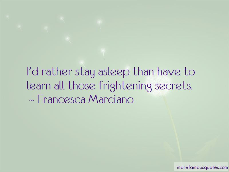 Francesca Marciano Quotes Pictures 2