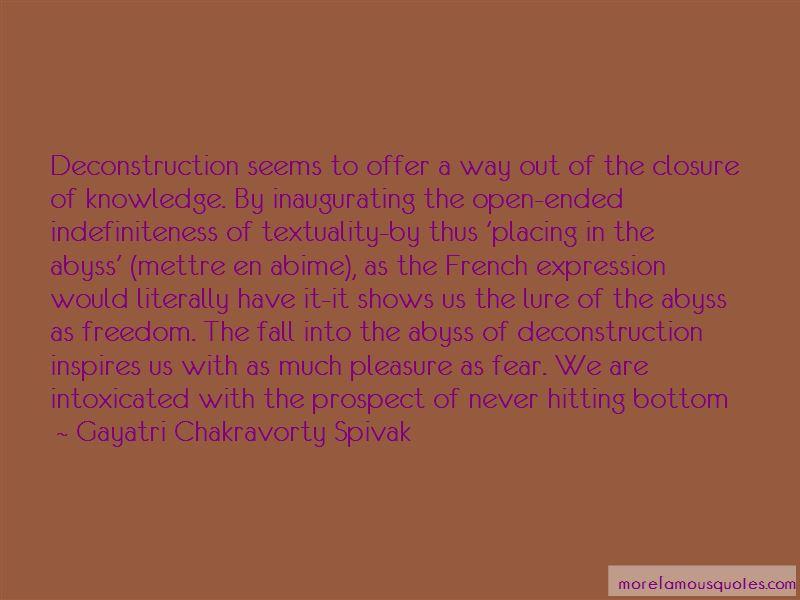 Gayatri Chakravorty Spivak Quotes