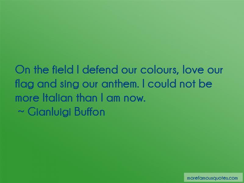 Gianluigi Buffon Quotes