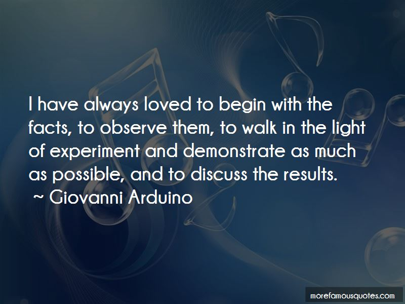 Giovanni Arduino Quotes