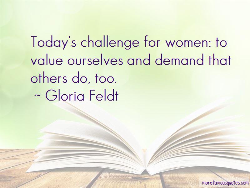 Gloria Feldt Quotes Pictures 2