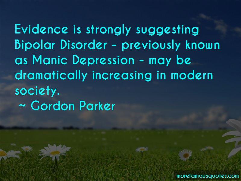 Gordon Parker Quotes