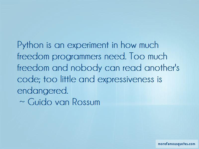 Guido Van Rossum Quotes Pictures 3