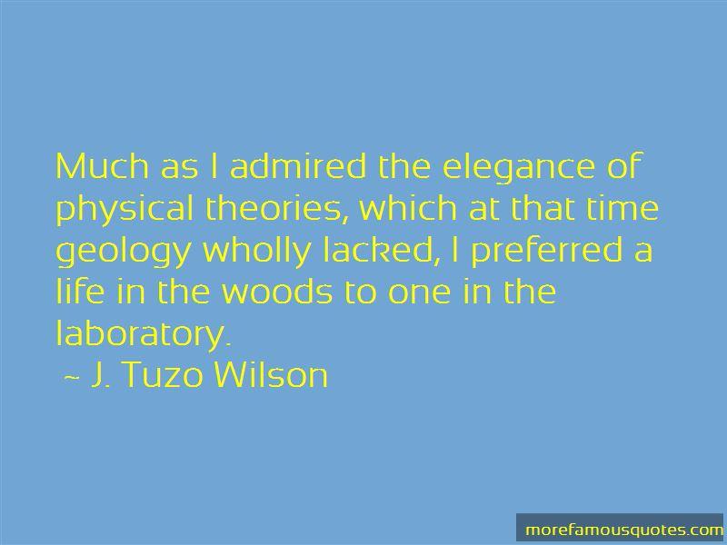 J. Tuzo Wilson Quotes