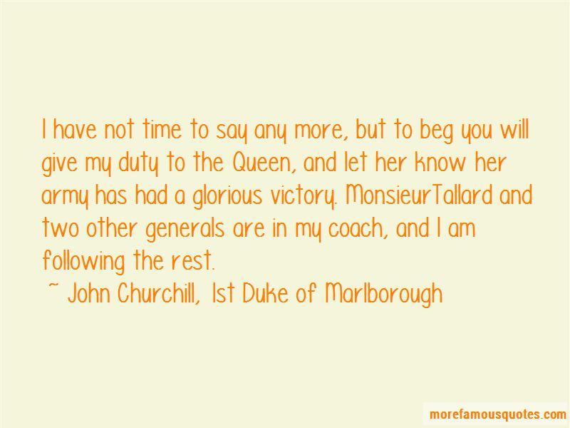John Churchill, 1st Duke Of Marlborough Quotes Pictures 4
