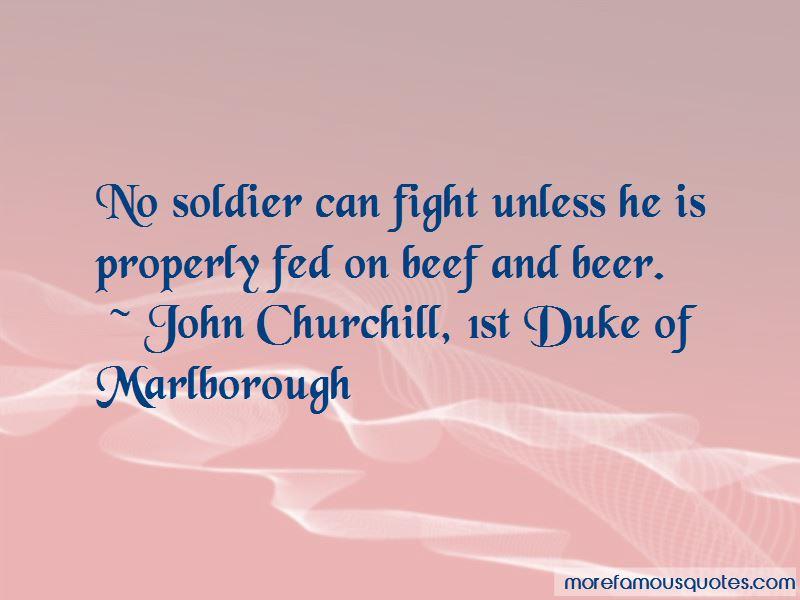 John Churchill, 1st Duke Of Marlborough Quotes