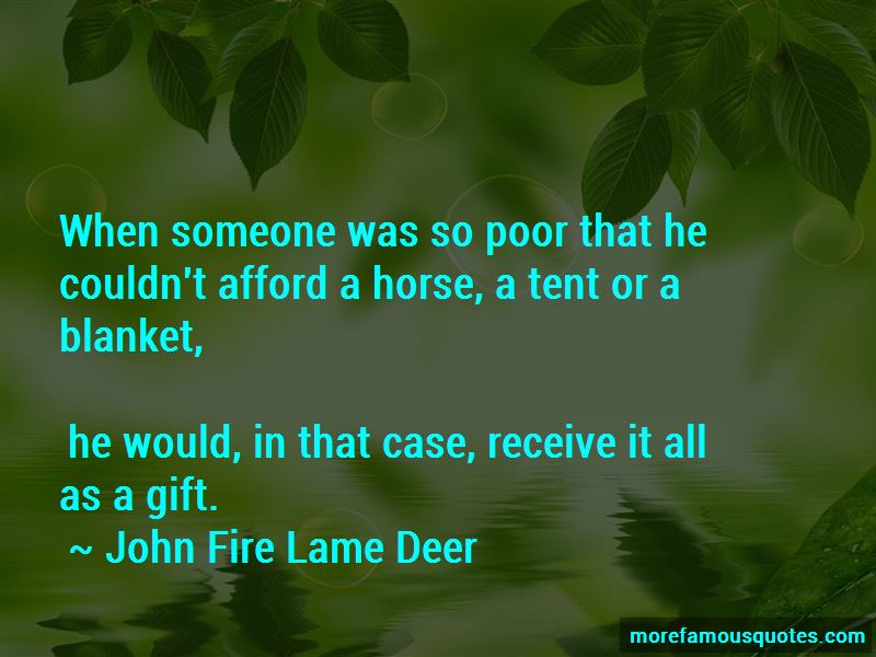 John Fire Lame Deer Quotes Pictures 3