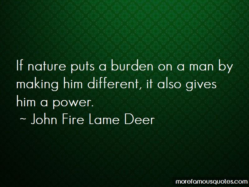 John Fire Lame Deer Quotes Pictures 4