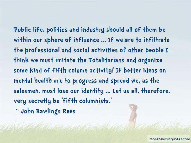 John Rawlings Rees Quotes