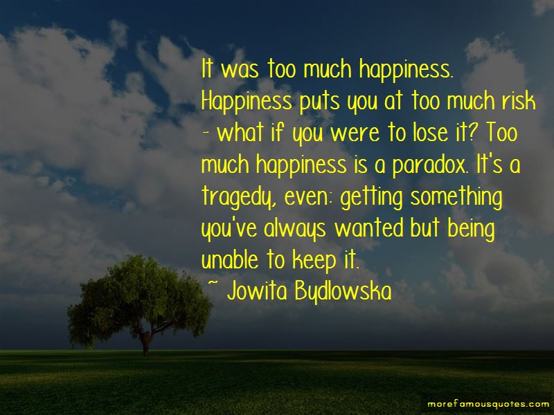 Jowita Bydlowska Quotes Pictures 2
