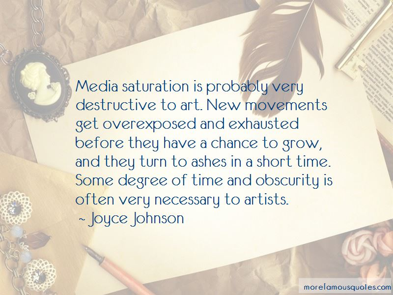 Joyce Johnson Quotes Pictures 3