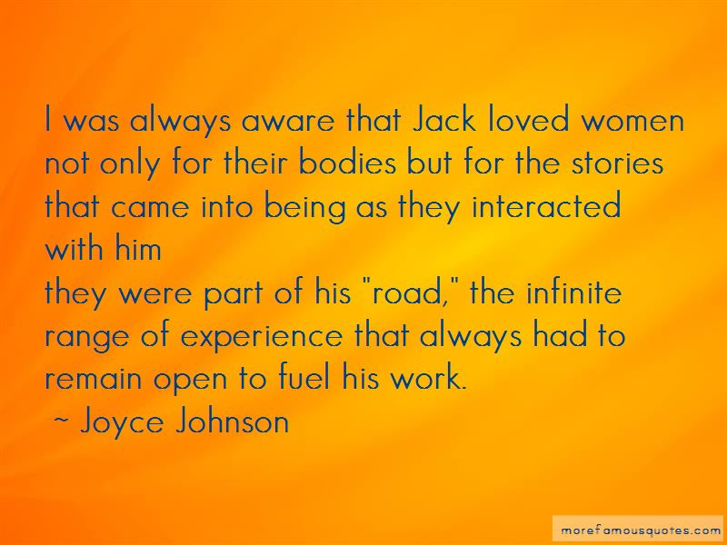 Joyce Johnson Quotes Pictures 4