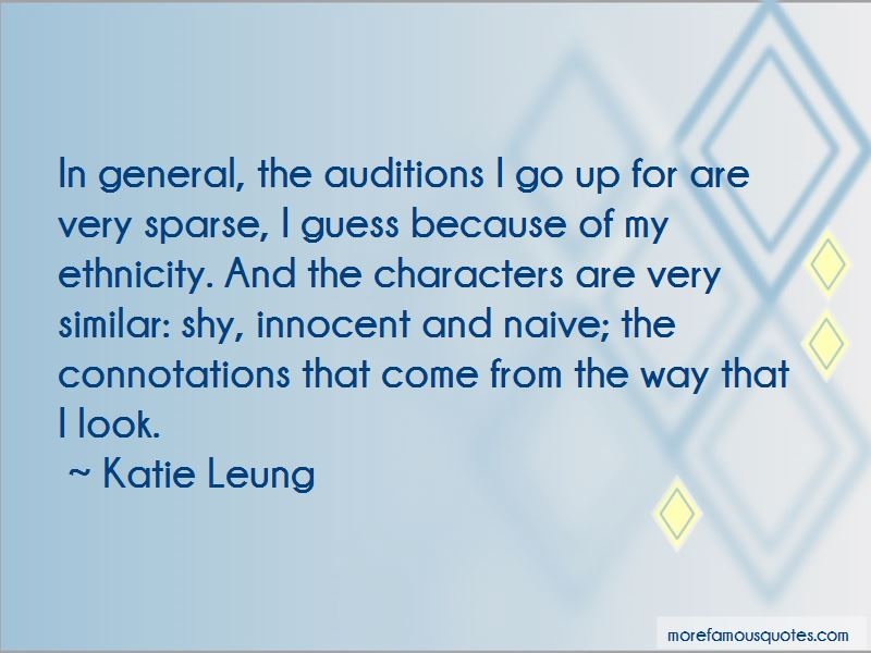 Katie Leung Quotes