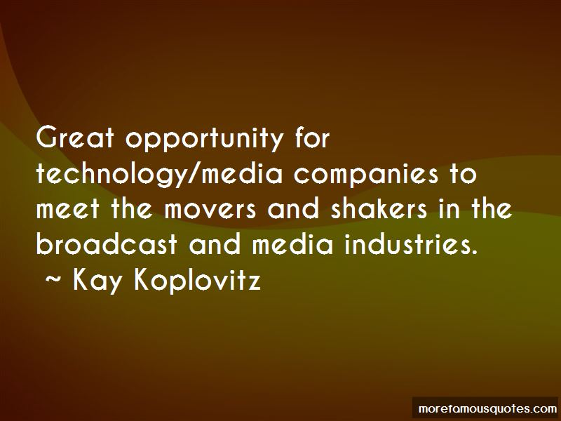 Kay Koplovitz Quotes Pictures 3