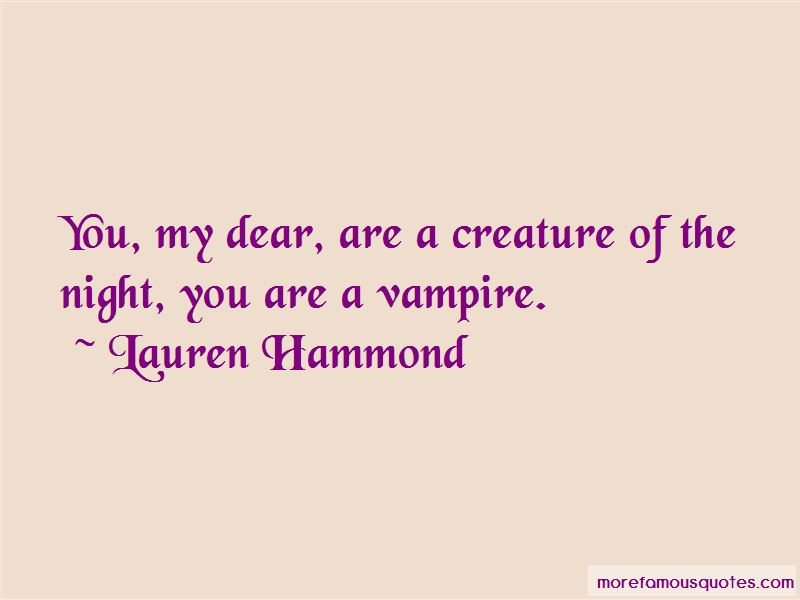 Lauren Hammond Quotes Pictures 2