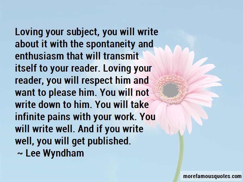 Lee Wyndham Quotes Pictures 3