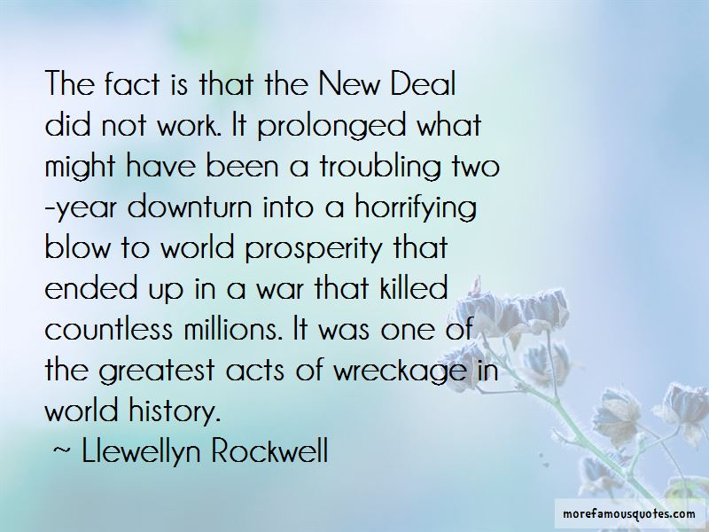 Llewellyn Rockwell Quotes Pictures 3
