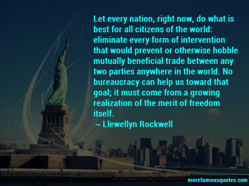 Llewellyn Rockwell Quotes