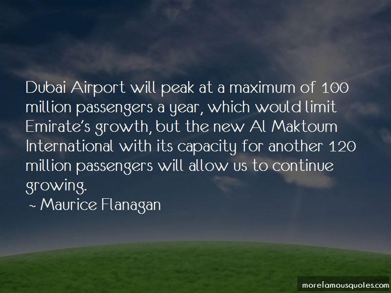 Maurice Flanagan Quotes