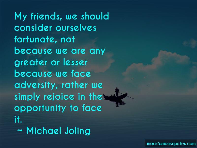 Michael Joling Quotes