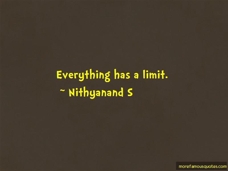 Nithyanand S Quotes